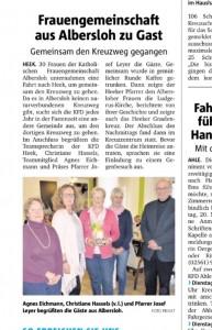 Zeitungsbericht Heek